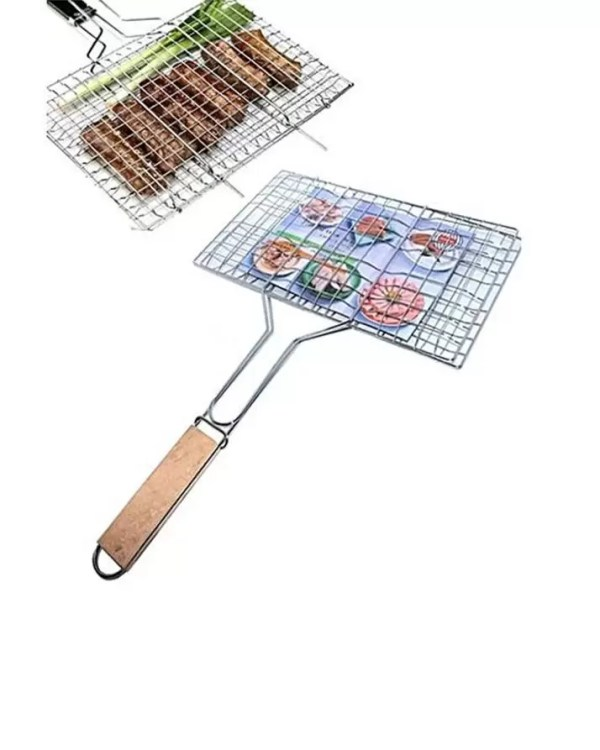 Bbq Stainless Steel Hand Grill