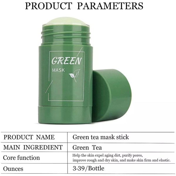 Green Mask Stick Green Tea Mask Stick 100% Original Product