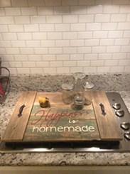 Happiness is Homemade Farmhouse Tray