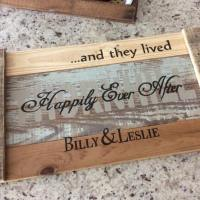 Farmhouse Wood Tray