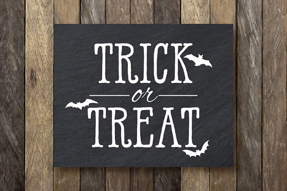 Trick-or-Treat Etsy Printable