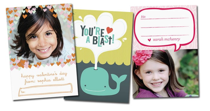 {Personalized Valentines} $25 credit is good on any purchase of $50 or more...