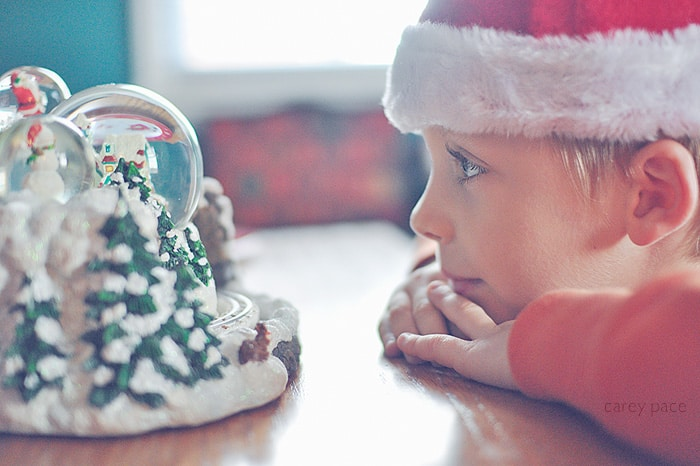 Holiday Photo Tip from Carey Pace | Make your camera easily accessible