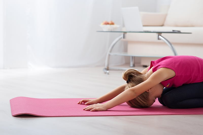 How-to Enjoy Kid-Free Yoga - Great tip that allows you a full adult yoga session, but ensures your kiddo is happy too... *This is brilliant