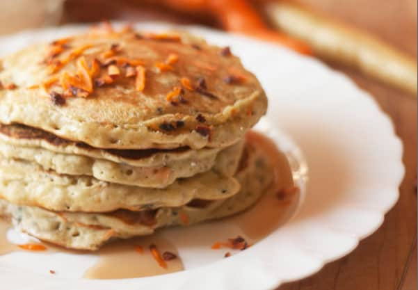 {Carrot Pancakes} *Plus 7 Hearty Autumn Recipes