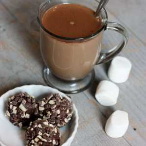 Must-Try Homemade Mint Cocoa *So making this...
