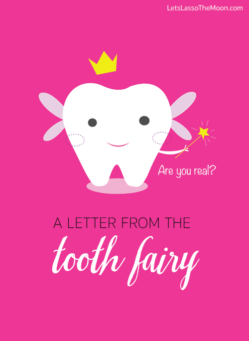 A Letter From The Tooth Fairy