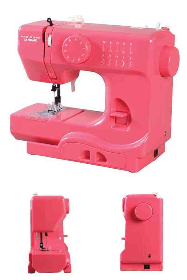 Janome Pink Lightning Portable Sewing Machine *This is an awesome starter machine for kids learning to sew