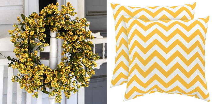 Celebrate spring with a touch of yellow