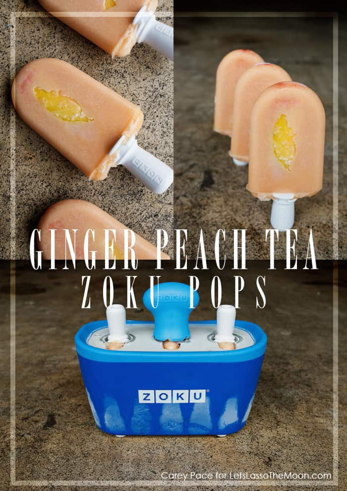 Ginger Peach Tea Zoku Pops Popsicles  // 7 Must-Try Recipes *These all sound AMAZING. Saving this for later.