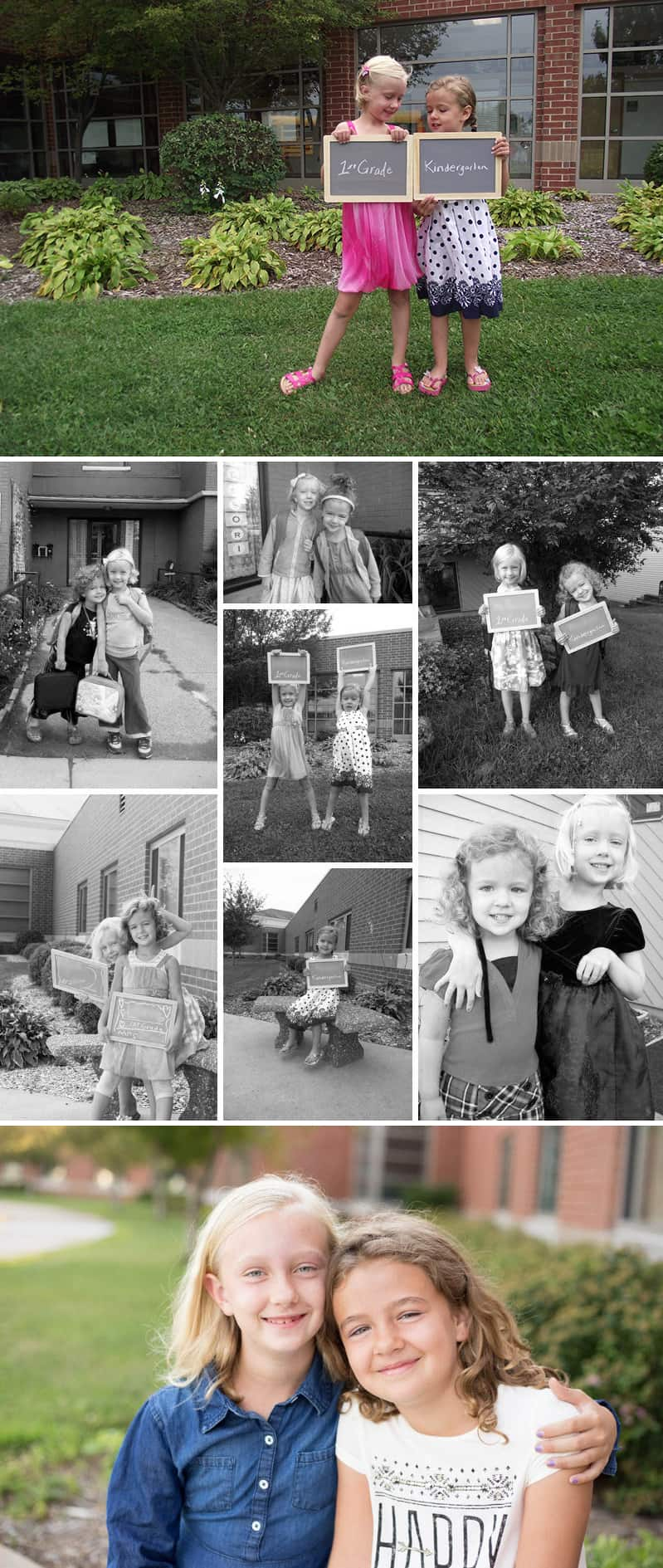 First Day of School Photos // Great photography tips for parents. *Saving this for back-to-school this year
