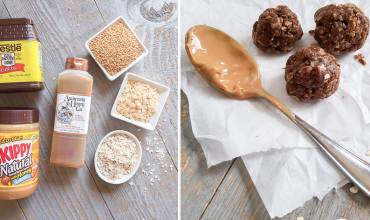 No-Bake Snack Bites: Cocoa-Peanut Butter Energy Balls