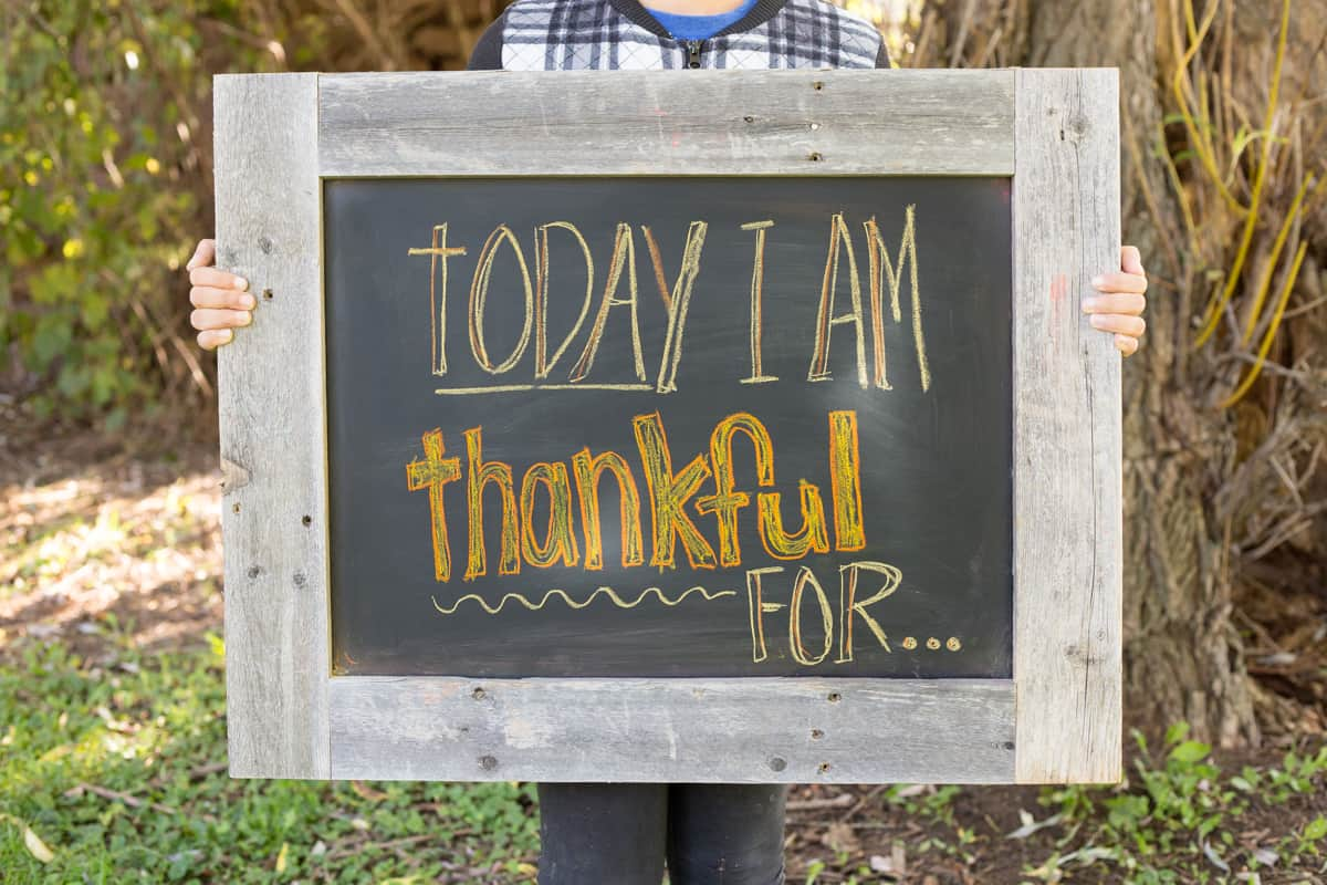 Words Of Gratitude An Unique Family Project Older Kids Will Love