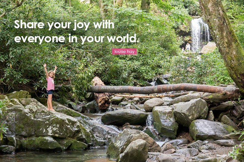 share your joy with everyone in your world. *love this quote. great tips for planning a family vacation.