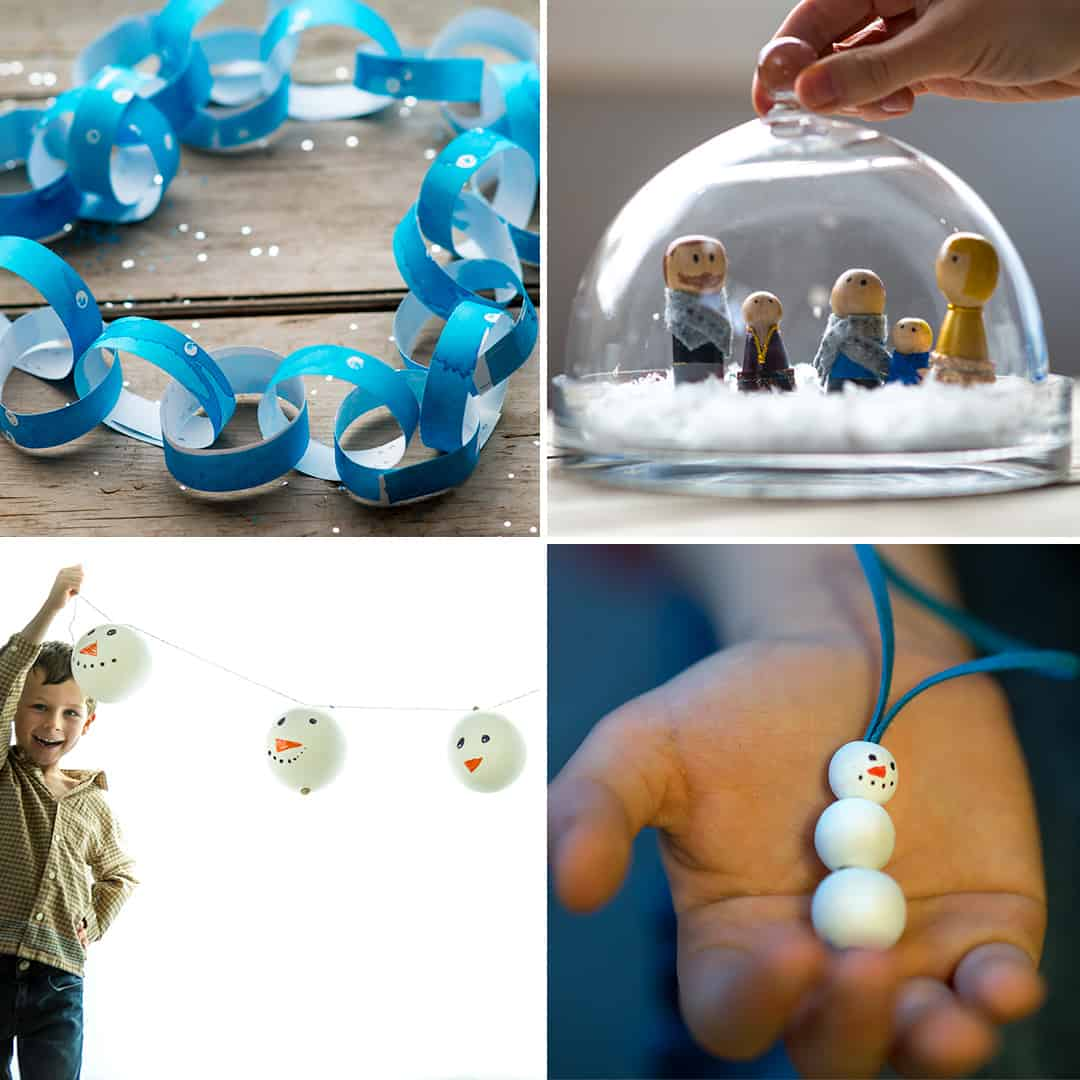 Snowy Ideas from make-it-your-own.com (Creative activities for kids!)