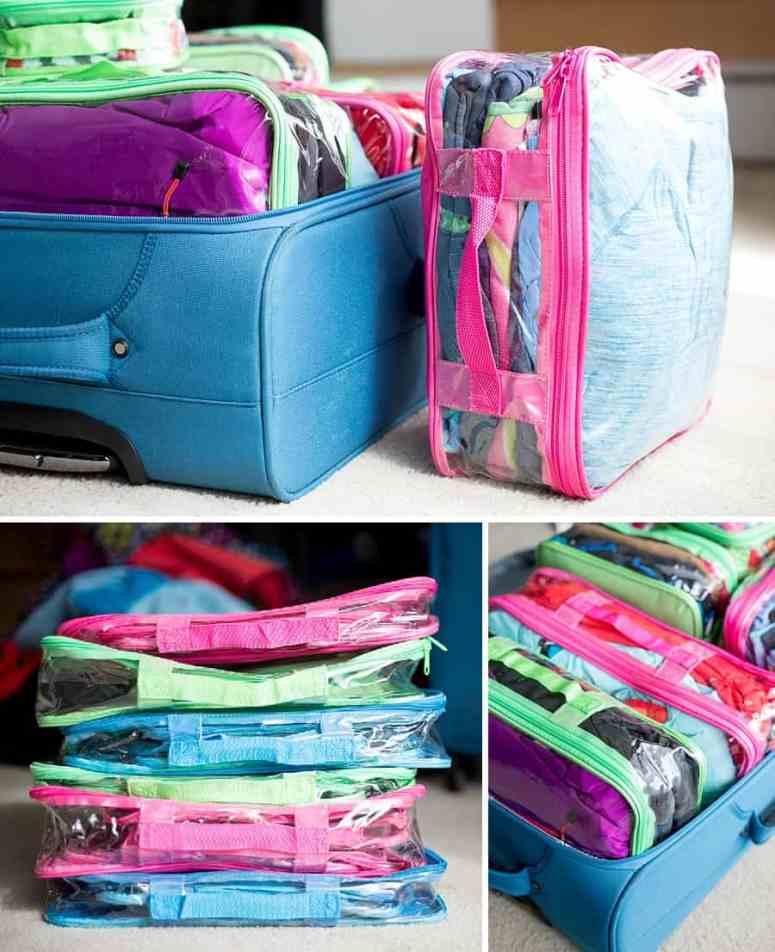 How to Maximize Space in Your Luggage: You'll be amazed at what's in this suitcase *10 packing tips and hacks for your next family vacation