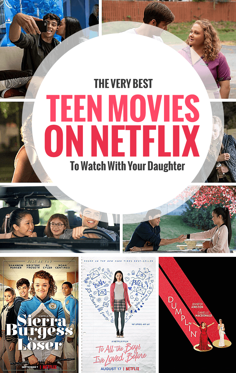 The Best Teen Movies On Netflix To Watch With Your Daughter - A great list of tween and teen movies to bond over and kickstart important parenting conversations. #netflix #movienight #teenmovies #movielist #tweenmovies #modernparenting #parenting *Great list of streaming titles! Saving this for later.