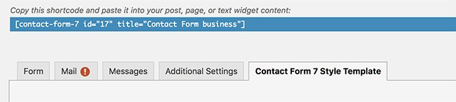 Contact Form 7 Styling 4