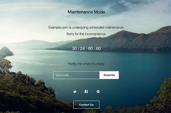 How to active maintenance mode in WordPress (4)