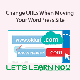 How to Change URLs When Moving Your WordPress Site featured image