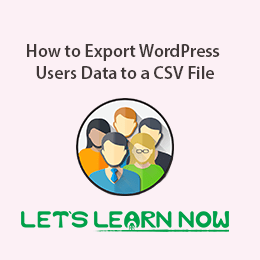 How to Export WordPress Users Data to a CSV File