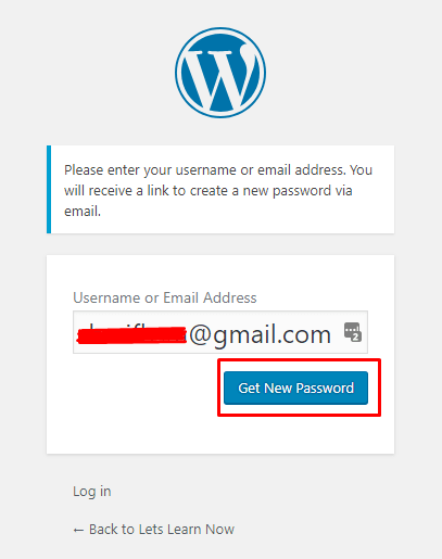 How to Recover WordPress Password for Beginners (3)