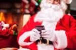 Santa's good night text