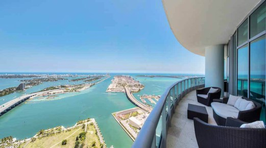 900 Biscayne Bay Penthouse Condos in Downtown Miami, Florida