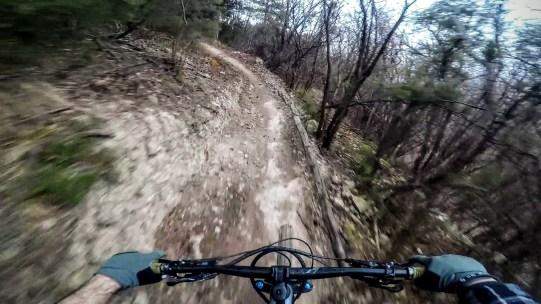 Uno dei trail più flow di Finale Ligure