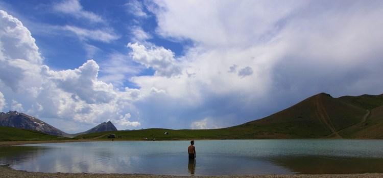 Bagno al lago Gignoux