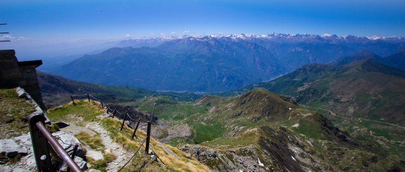 trekking Mombarone, cima