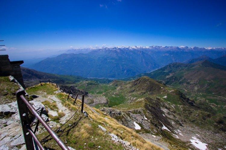 vista dal Mombarone, Graglia