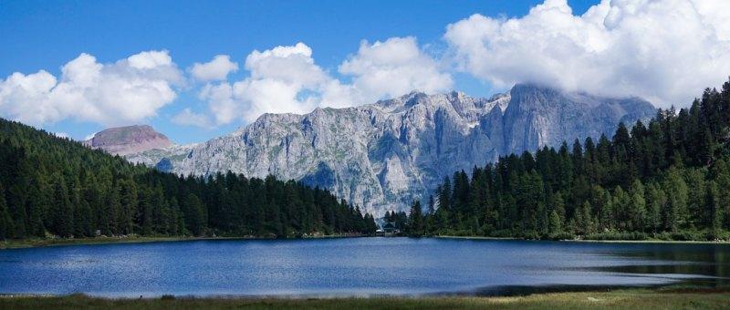 trekking in Val di Sole: lago delle Malghette