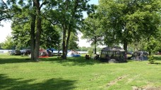 At designated campsites (this is Loud Thunder), you're probably going to have some camp neighbors.