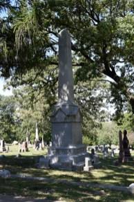 Col Davenport Marker at Oakdale
