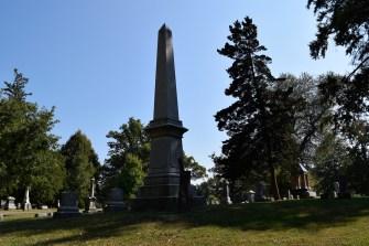 George Davenport Obelisk at Chippiannock