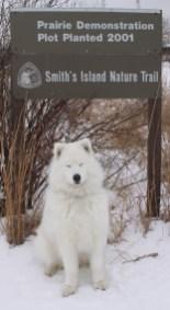 Kaia and Smiths Island Sign 2