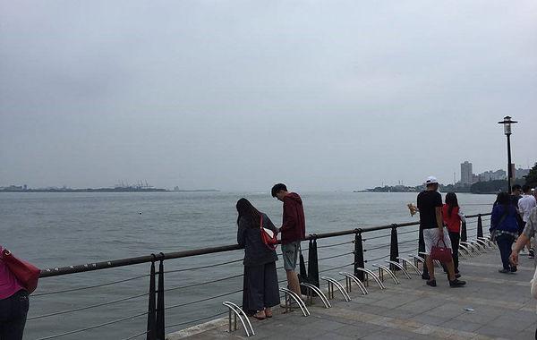 圖片說明:淡水河今日樣貌
