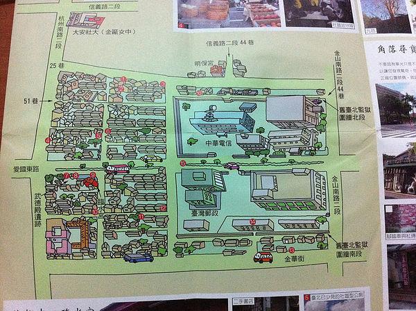 圖片說明/圖為華光社區地圖,如今華光社區已被迫拆遷。圖片來源:https://goo.gl/qGb8j5