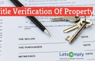 Title Verification Of Property In India | Property Title Verification