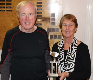 Shawn Murphy and Kathy Gotell placed in the Top 25 across Canada in the Erin Berry Master/Rookie