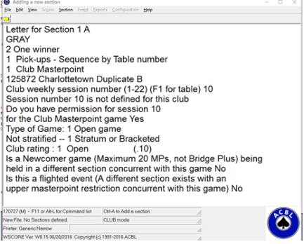 ACBLScore_2_table_setup