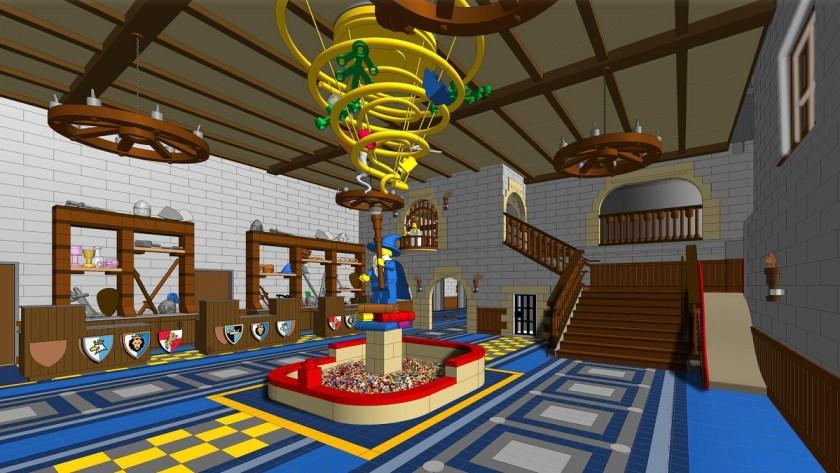 LEGOLAND CASTLE HOTEL GRAND-HALL