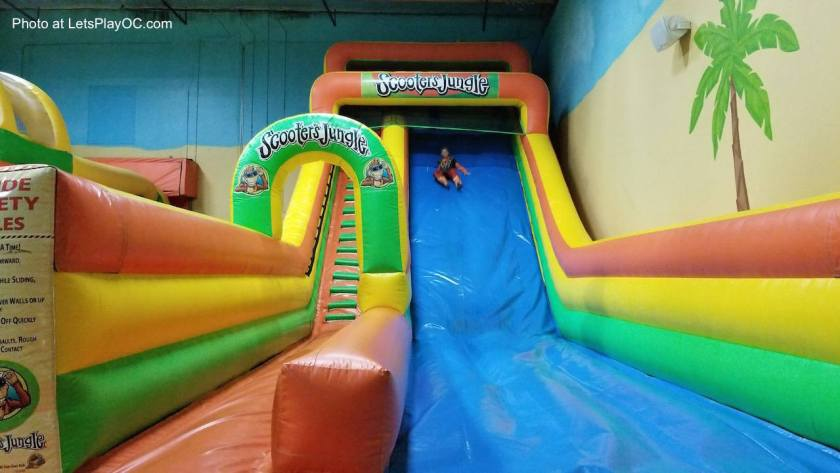 Scooter's Jungle Indoor Play Arena Large Inflatable Slide