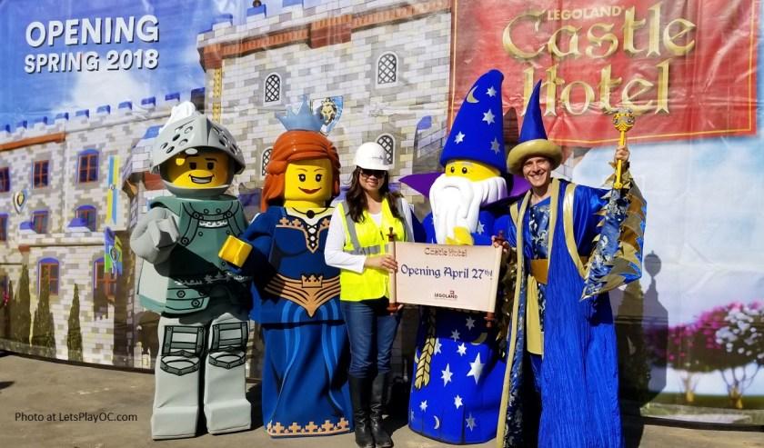 LEGOLAND CASTLE HOTEL HARD HAT TOUR