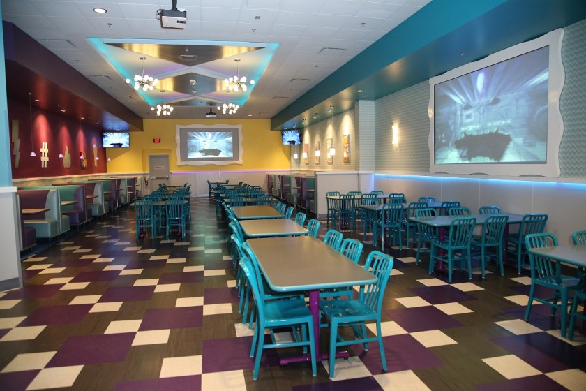 Kaleidoscope Dining Room - Photo courtesy John's Incredible Pizza Co.