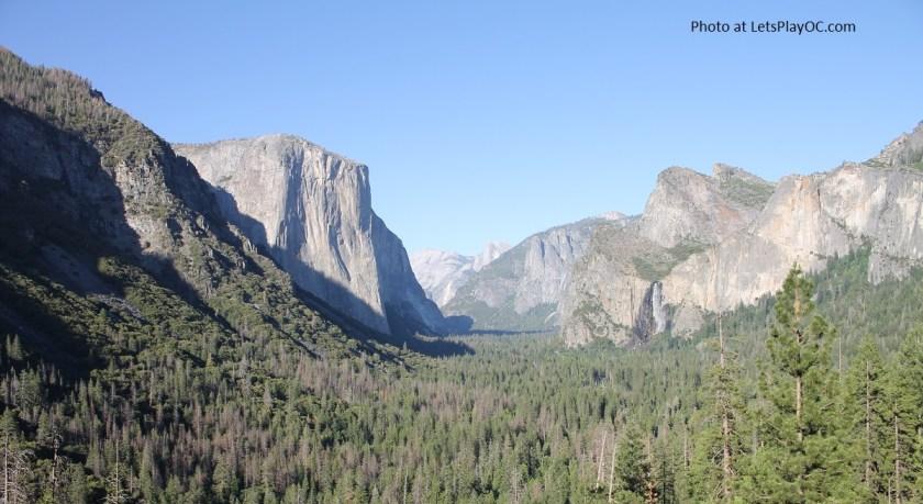 Yosemite National Park - Inspiration Point aka Tunnel View