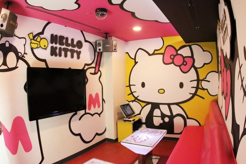 Sanrio x Energy Karaoke Hello Kitty Themed Karaoke Room