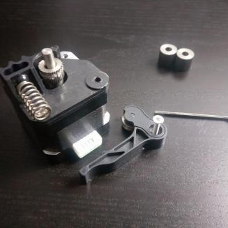 Extruder Lever Screw Removed