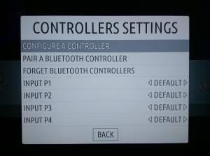 RecalBox Controller Settings